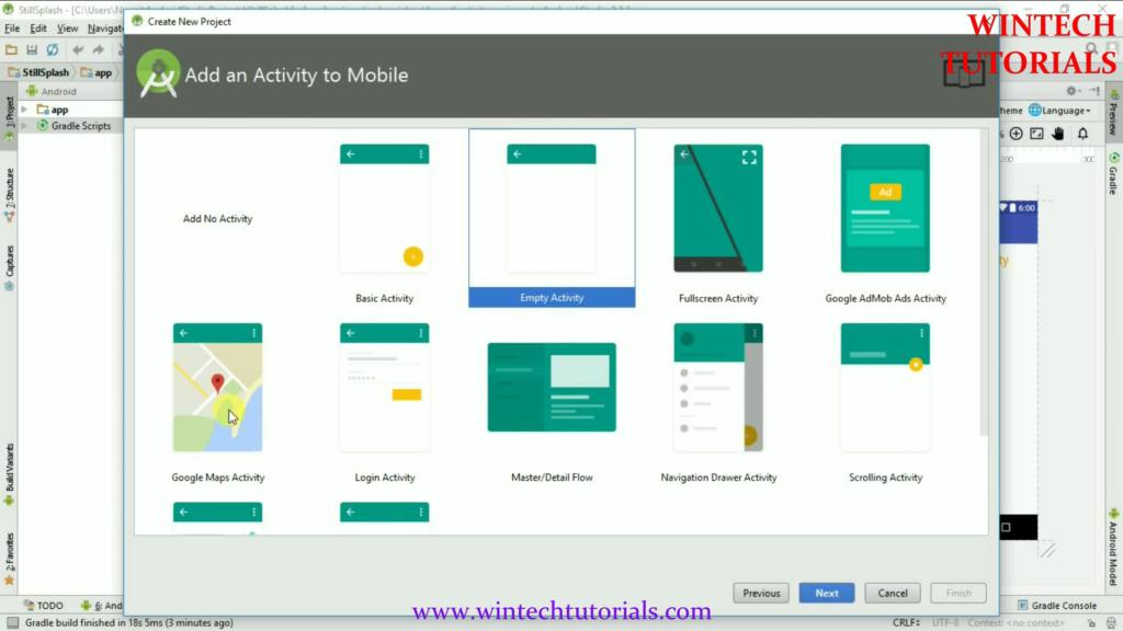 Android Google Map Location Wintech Tutorials